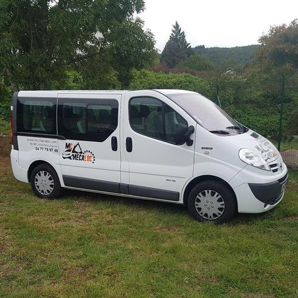 Minibus Nissan Primastar