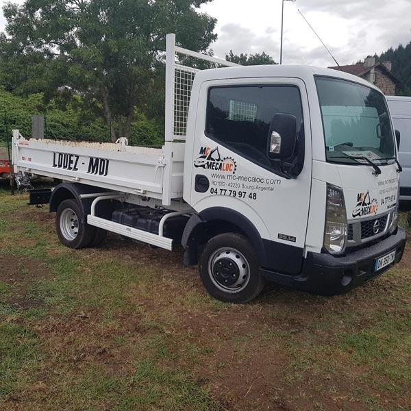 Camion benne Nissan Cabstar 3,5t